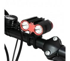 Xeccon SPIKER 1207 Pro lampa rowerowa 2xCREE XM-L2