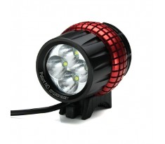 Xeccon SPIKER 1210 lampa rowerowa 4x CREE XP-G2 o mocy 1600 lumenów