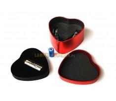 NITEYE MINI-1 SERCE Cree XP-G2 130lum Wersja Limitowana latarka mini z portem USB
