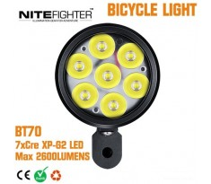 NITEFIGHTER BT70 - lampa rowerowa zestaw