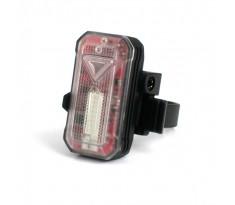 Xeccon R11 lampa rowerowa tył auto-stop USB 30 lumenów
