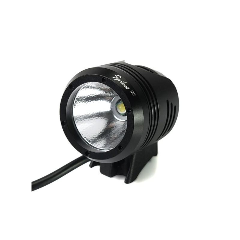 Xeccon SPIKER 1211 mini lampa rowerowa CREE XM-L2