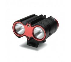 Xeccon SPIKER 1207 Pro lampa rowerowa 2xCREE XM-L2 o mocy 2200 lumenów