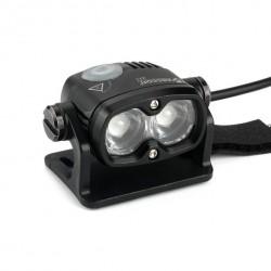 Xeccon Z11 / Zeta 1600 wireless mini lampa rowerowa 2x CREE XM-L2 o mocy 1600lum