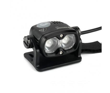 Xeccon Z11 wireless mini lampa rowerowa 2x CREE XM-L2 o mocy 1800lum