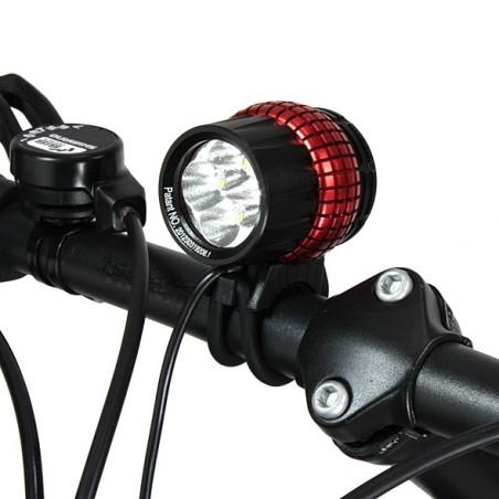 Xeccon SPIKER 1210 lampa rowerowa 4x CREE XP-G2 o mocy 1600