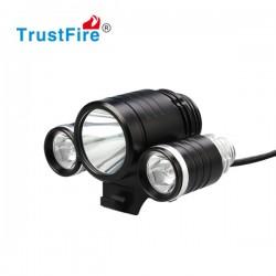 TrustFire TR-D003 lampa rowerowa 1800 lum Cree Xm-L2 + 2x XP-E 4400mah