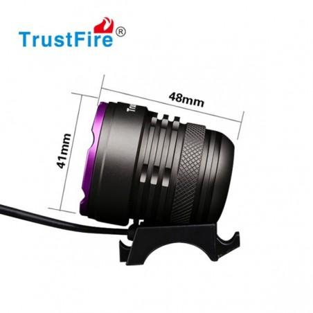 TrustFire TR-D006 lampa rowerowa 1100 lumenów 3x Cree XM-L2