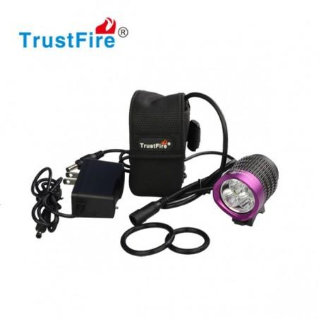 TrustFire TR-D008 lampa rowerowa 2000 lumenów 3x Cree XM-L2