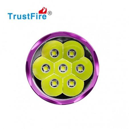 TrustFire TR-D014 Lampa rowerowa 7x Cree CM-L2 3200 lumenów