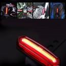 Lampa rowerowa DZIEŃ / NOC dwukolorowy led COB port USB