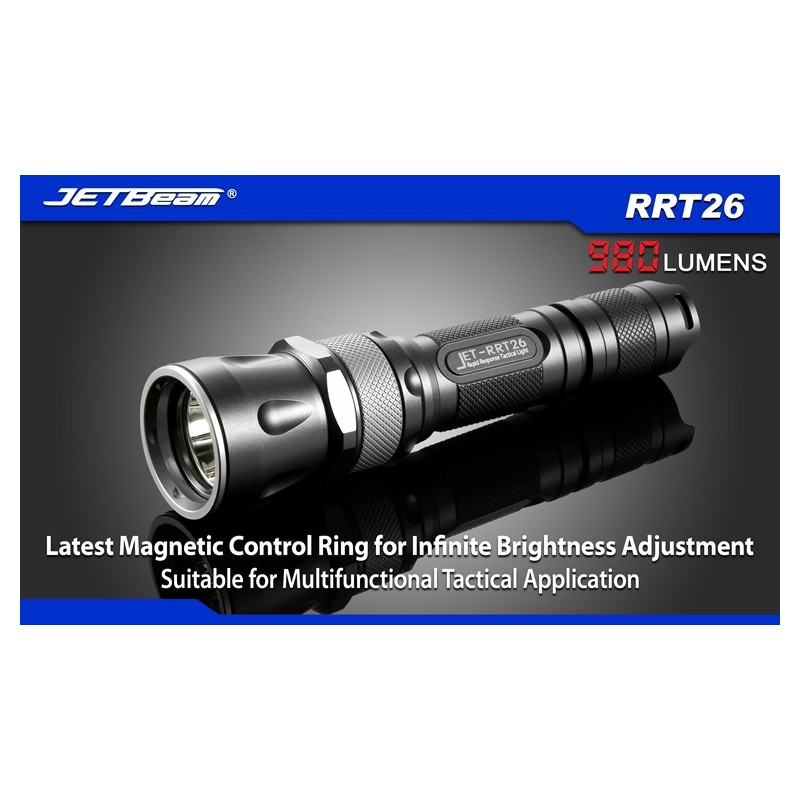 JETBEAM RRT26 latarka CREE XM-L2 PREMIUM LED 980 Lum RGB LED