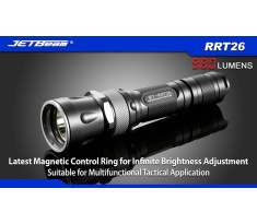 JETBEAM RRT26 latarka CREE XM-L2 LED 980 Lum RGB LED