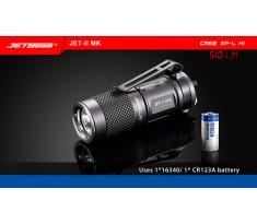 JETBEAM/NITEYE JET-II MK latarka mini Cree XP-L HI 510 lum 1x16340/CR123A