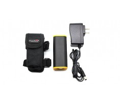 TrustFire E01 powerbank 4000mAh 4*18650 USB, ładowarka, pokrowiec