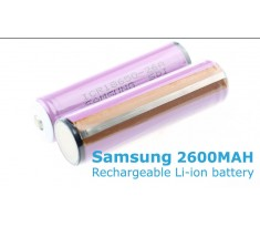 SAMSUNG Akumulator Li-ion 3,7V 18650 2600mAh Protected ICR18650 26A