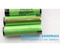 PANASONIC Akumulator Li-ion 3,7V 18650 3400mAh Protected NCR18650B