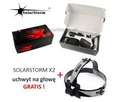 Lampa rowerowa SOLARSTORM X2 XM-L2 x2 - Oryginał - Polska Dystrybucja + uchwyt GRATIS