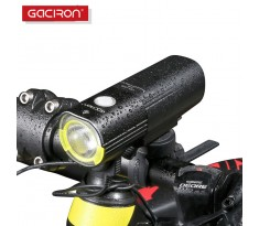 Lampa rowerowa GACIRON V9S-1000 Cree XML2 port USB Power Bank + lampa tył GACIRON W05 Gratis !