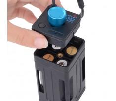 Zasobnik koszyk na akumulatory Trustfire EB02 port USB
