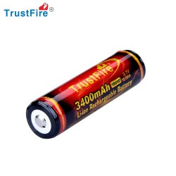 Trustfire Akumulator Li-ion 3,7V 18650 3400mAh Protected PCB