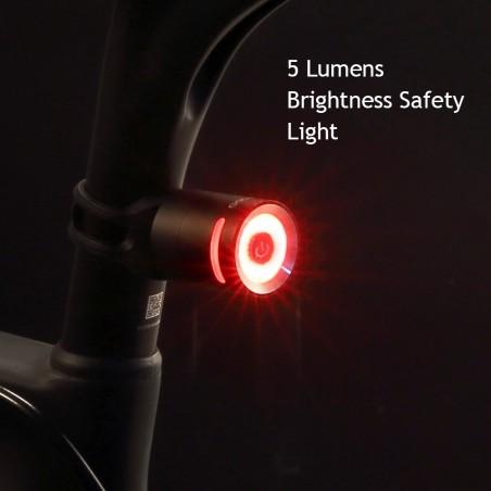 Lampa rowerowa tył GACIRON W10 led port USB