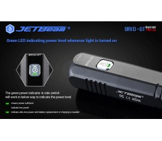 Latarka na rower JETBEAM / NITEYE BR10GT v2 1100 lum SST40 USB