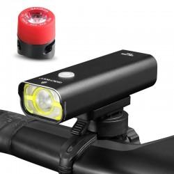 Lampa rowerowa GACIRON V9C-800 Cree XP-L port USB 800 lum + lampa tył GACIRON W05 Gratis !