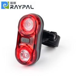Lampa rowerowa tył 2x 0,5W RAYPAL RPL-2232 na baterie 2xAAA