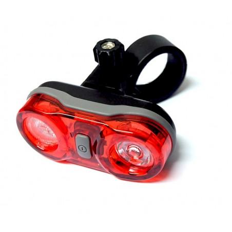 Lampa rowerowa SOLARSTORM X2 XM-L2 ORYGINAŁ + Lampka tył 2x 0,5W RAYPAL RPL-2232