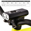 Lampa rowerowa Nitenumen X8 port USB 2x CREE XM-L2 6700mAh Panasonic