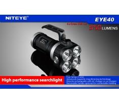 Latarka NITEYE EYE40 klasy High-End 4xXM-L2 U2 3150 lumenów