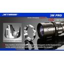 Latarka JETBEAM 3M PRO - Cree XP-L premium 1100 lumenów