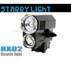 Starry Light RX02 lampa rowerowa 1600 lum Solarstorm