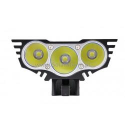 Lampa rowerowa SOLARSTORM X3 XM-L2 x3 - Oryginał - Polska Dystrybucja