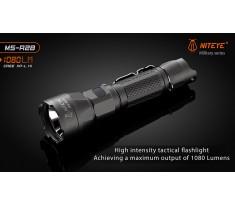 Latarka taktyczna JETBEAM/ / NITEYE MS-R28 Cree XP-L HI 1080lum port USB