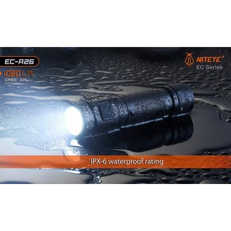 Latarka NITEYE EC-R26 Cree XP-L 1080lum port USB