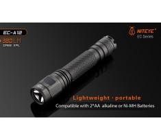 Latarka JETBEAM / NITEYE EC-A12 Cree XP-L 380lum port USB 2xAA